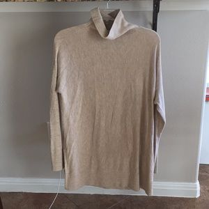 LOFT mock turtleneck